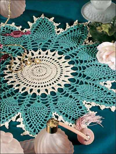 Free Crochet Christmas Doily Patterns 3458g Doilies