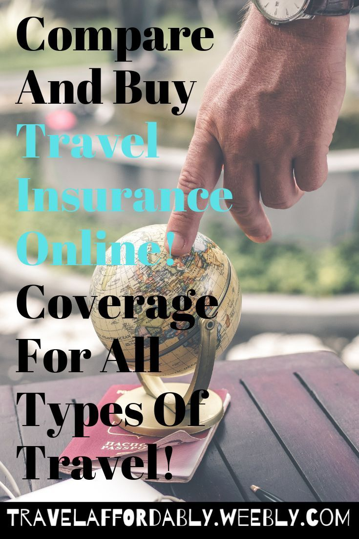 Compare and buy travel insurance online coverage for all