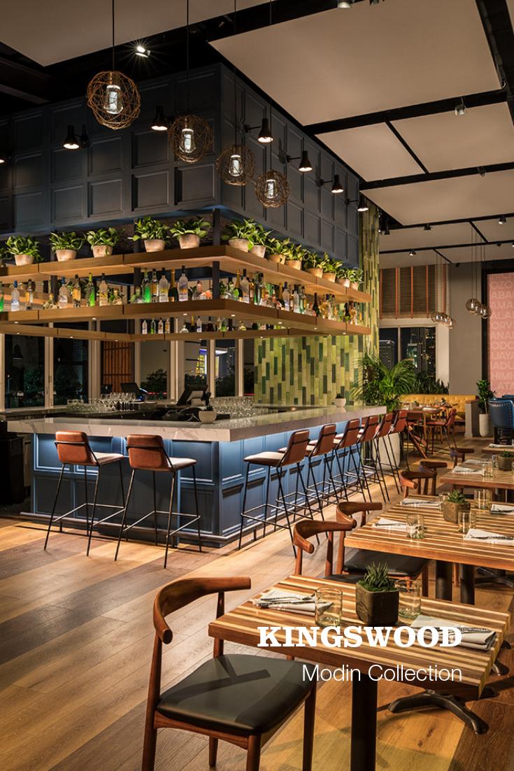 Kingswood Signature Modern Restaurant Design Restaurant Exterior Design Cafe Interior Design