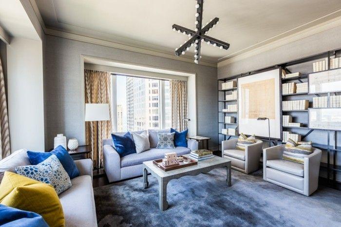 Farbideen Wohnzimmer: Grau Für Stil, Stabilität Und Harmonie |  Farbkombinationen, Wohnzimmer Und Wohnzimmer Grau