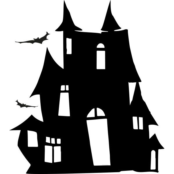 Maison hant e coloriage recherche google dessin halloween schnittchen et hexen - Dessin de maison hantee ...