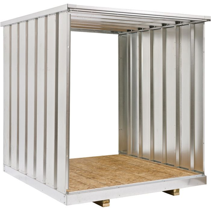 West Galvanized Steel Storage Container Extension Kit 7Ft Model