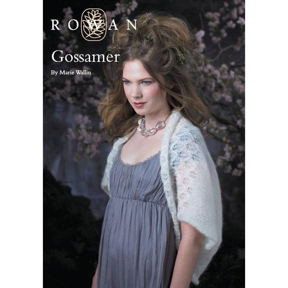 Gossamer Shrug in Rowan Kidsilk Haze | Knitting Patterns | LoveKnitting