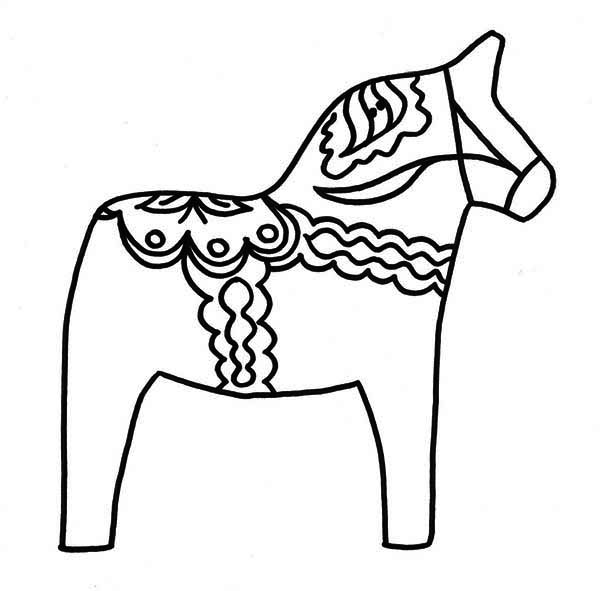 Awesome Horse Pinata Coloring Page Kids Play Color Coloring Pages Horse Pinata Coloring Pictures