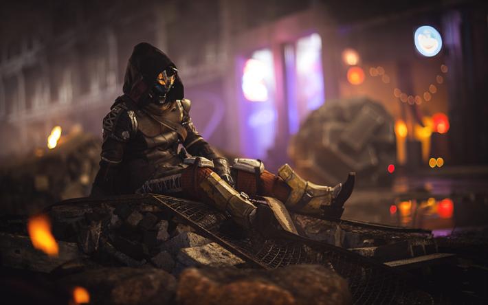 Download wallpapers Destiny 2, 4k, warriors, 2018 games