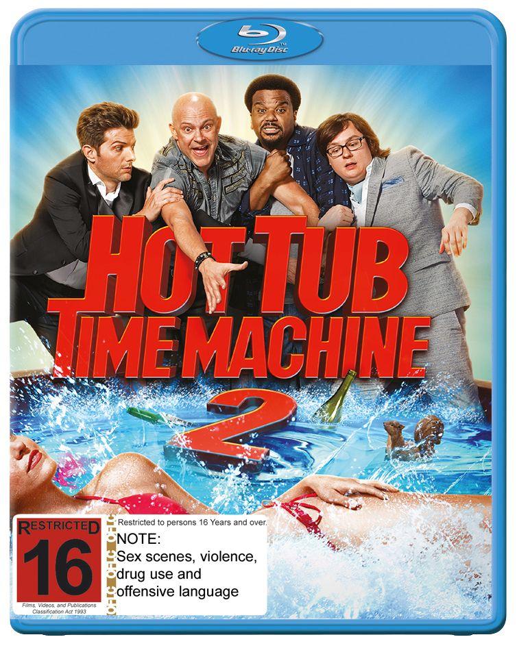 Hot Tub Time Machine 2 (Blu-ray) | Hot tub time machine ...