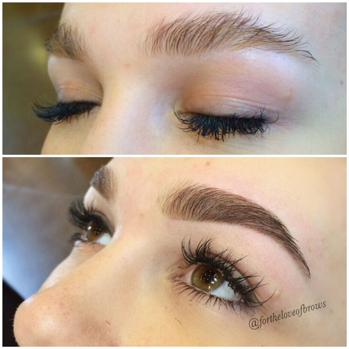 Eyebrow Art By Marisa Rios At Leidan Mitchell Salon Spa In