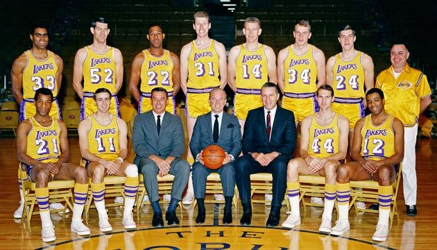 An In Depth Look At The Past And Present Of The Lakers The 16 Time Nba Champions Bios For Every Player Who Ever Wore A Laker Lakers Nba Champions Los Angeles