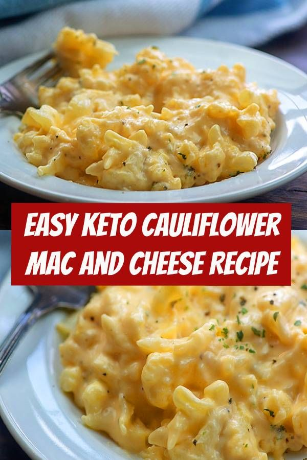 Photo of Keto Cauliflower Mac and Cheese Recipe #keto #lowcarb #cauliflower #recipe