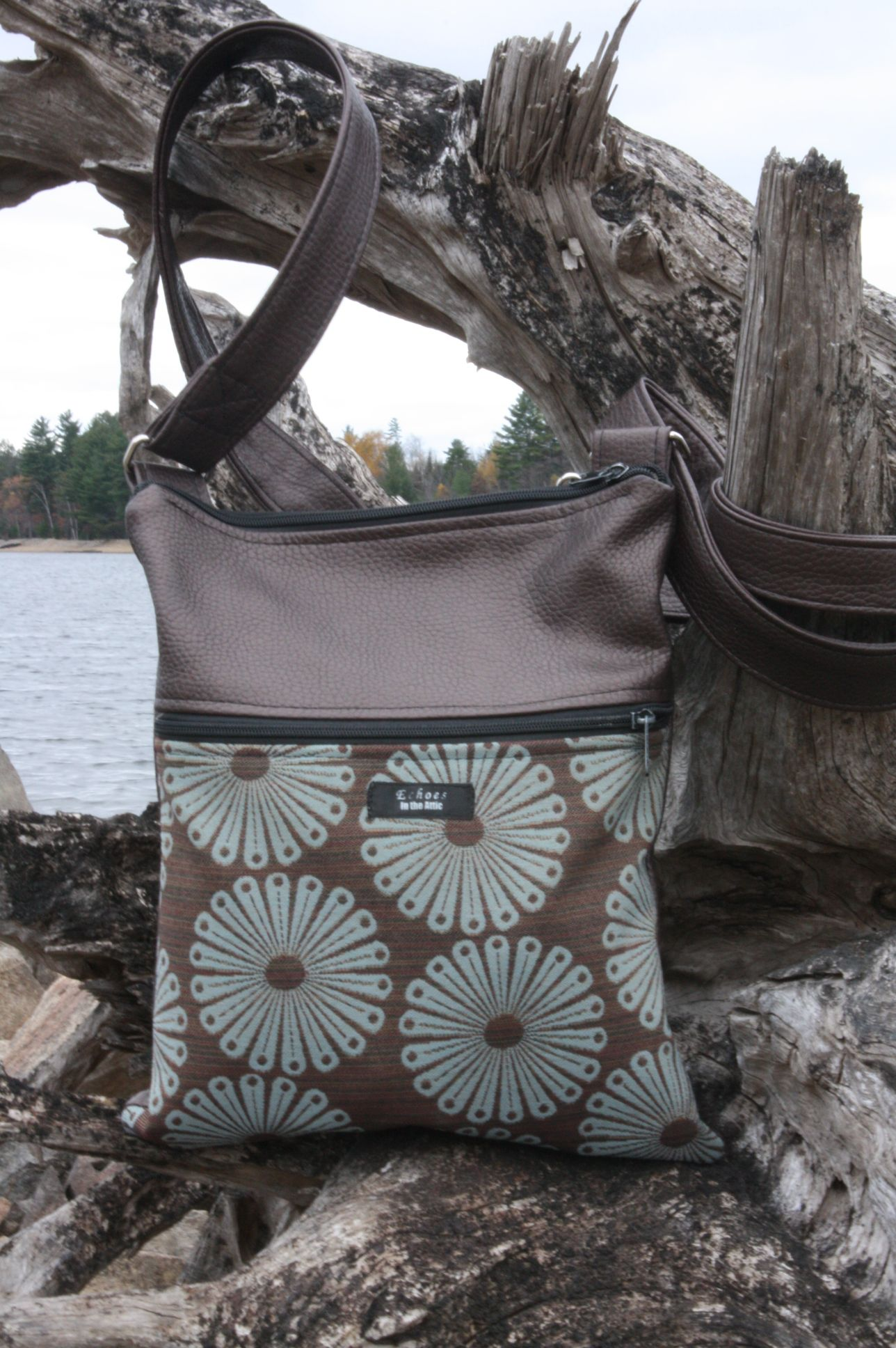 Xs Textiles Upcycled Into One Of A Kind Eco Chic Handbags