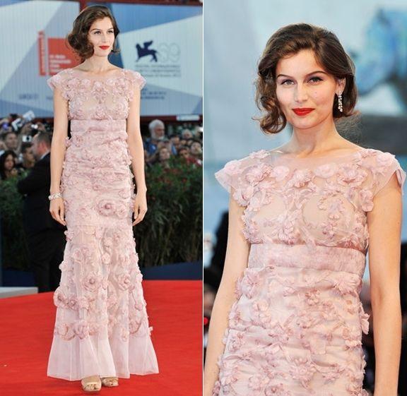 Laetitia Casta in Chanel Couture