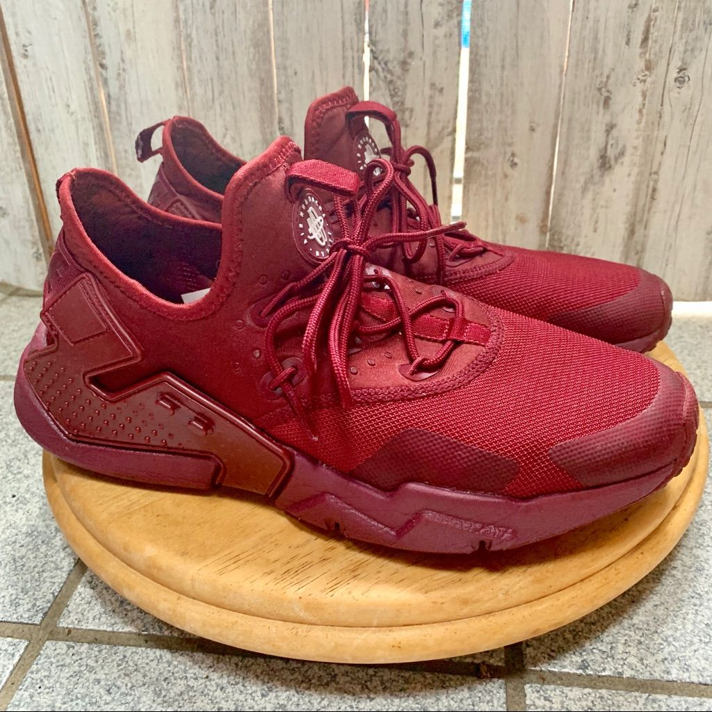 the latest 5f742 804d6 Nike Shoes | Nike Air Huarache Drift Maroon 9.5 | Color: Red ...