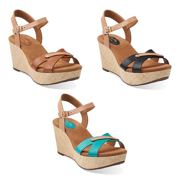 clarks caslynn regina wedge sandal spring trends