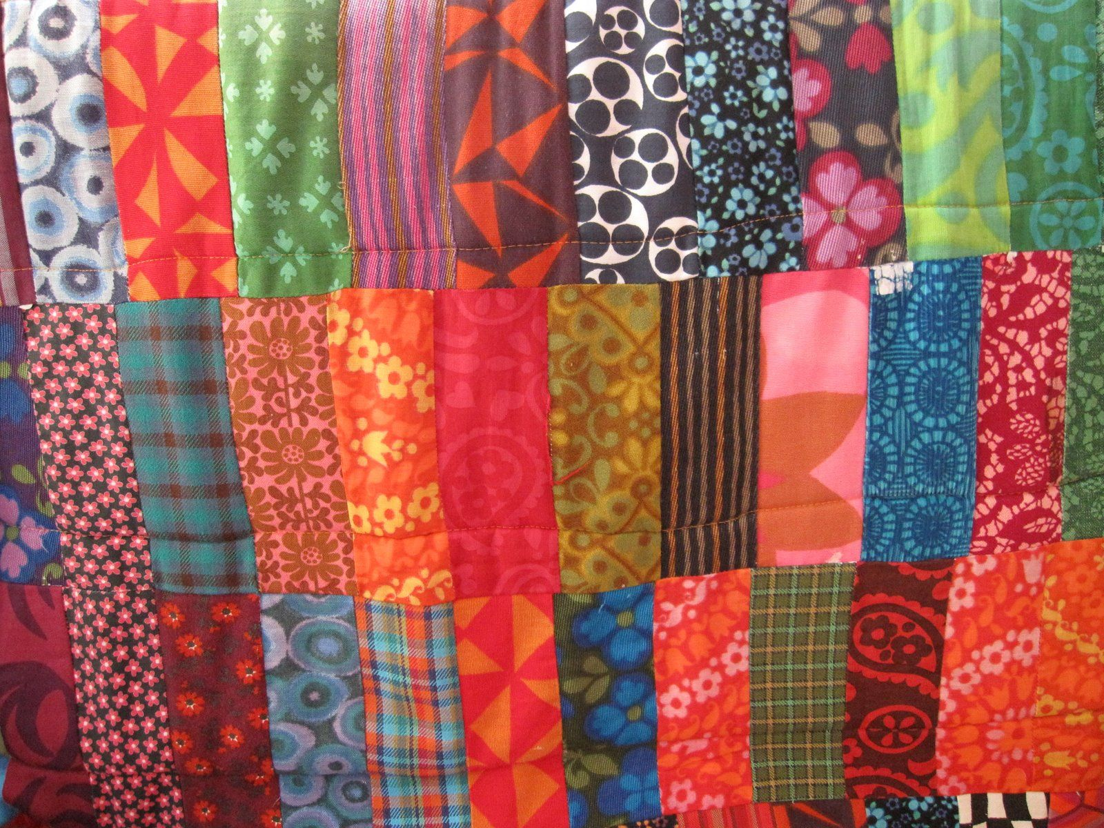 quilting can be easy and wonderful :)