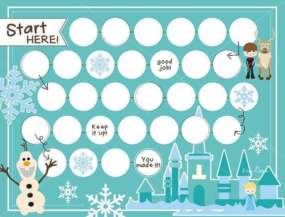 Reward Chart Template For Kids Kiddo Shelter – Progress Chart for Kids