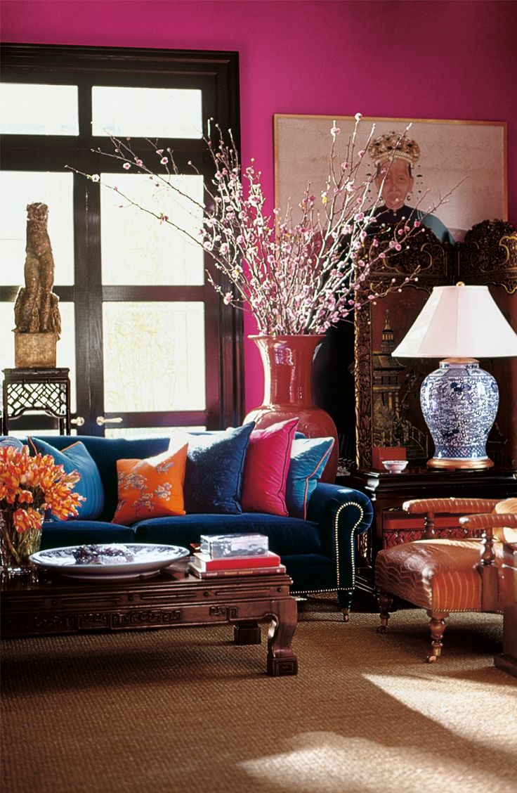 Create a backdrop perfect for eclectic, global style with ...