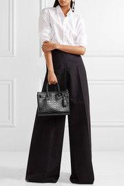 591f01690ee Sac De Jour Baby croc-effect leather tote | i want it, i got it ...
