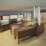 Unusual Kitchen Design of modern wooden dressing table from Kitchen Designs