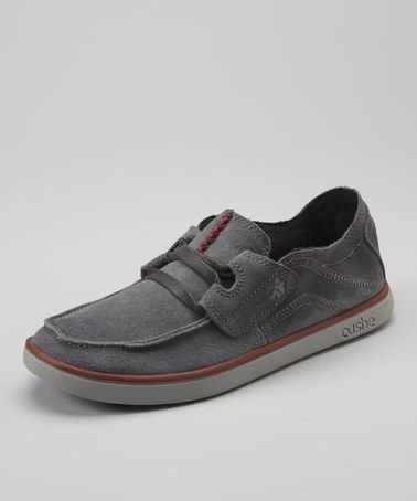 6f895491c1 Take a look at this Dark Gray Evo-Lite Taylor Suede - Men by Cushe on   zulily today!