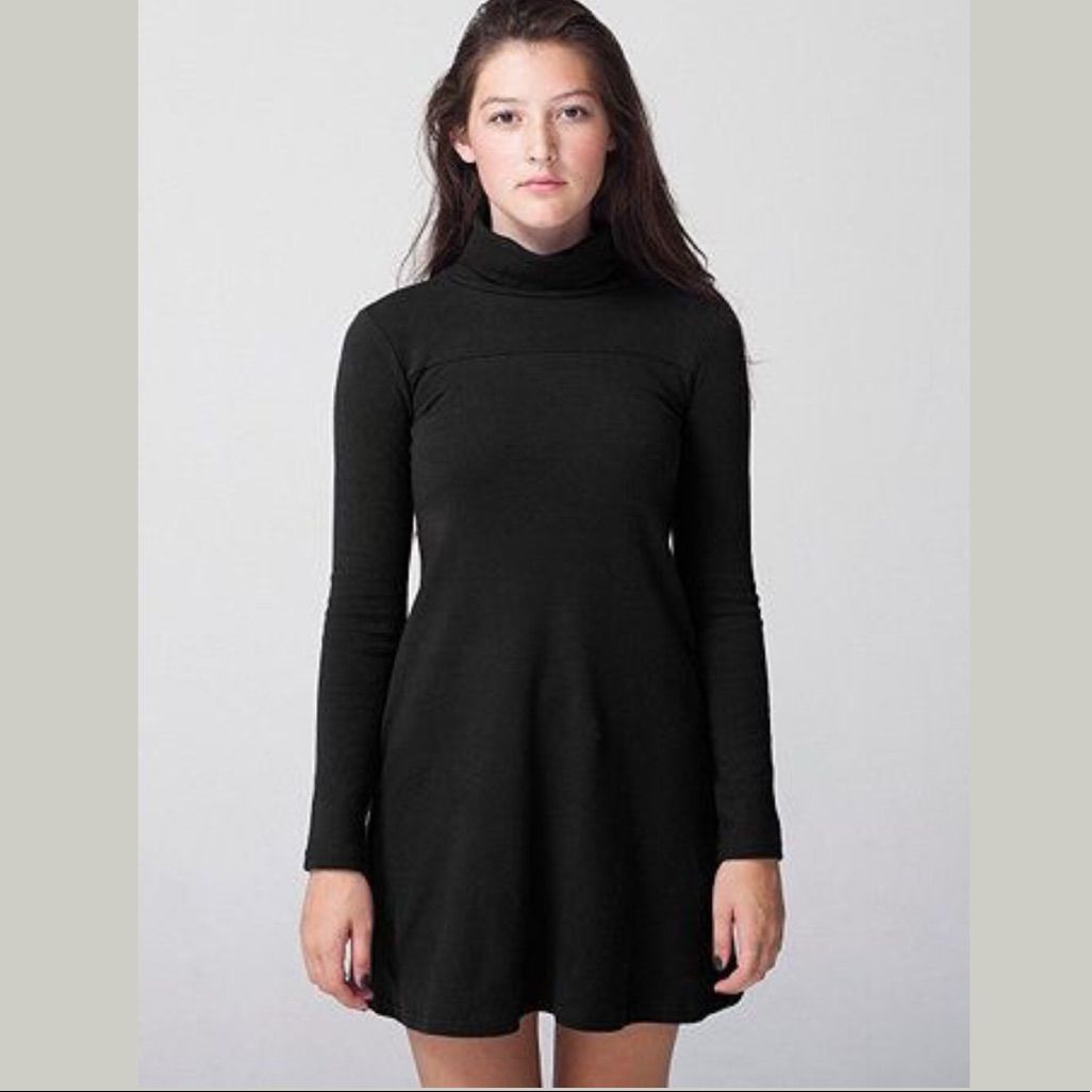 Long sleeved turtleneck shift dress products