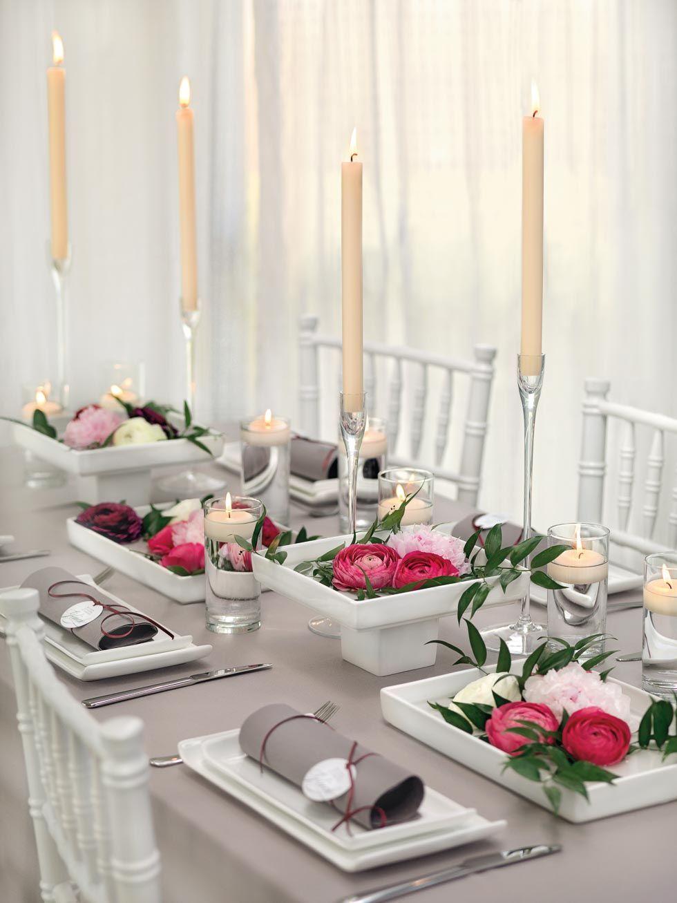 Tischdekoration Rosa Tischdekoration Taufe