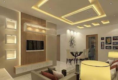 Latest modern pop ceiling design for hall false designs living room interior also rh pinterest