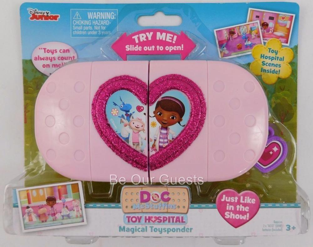 Disney junior doc mcstuffins magical toysponder toy