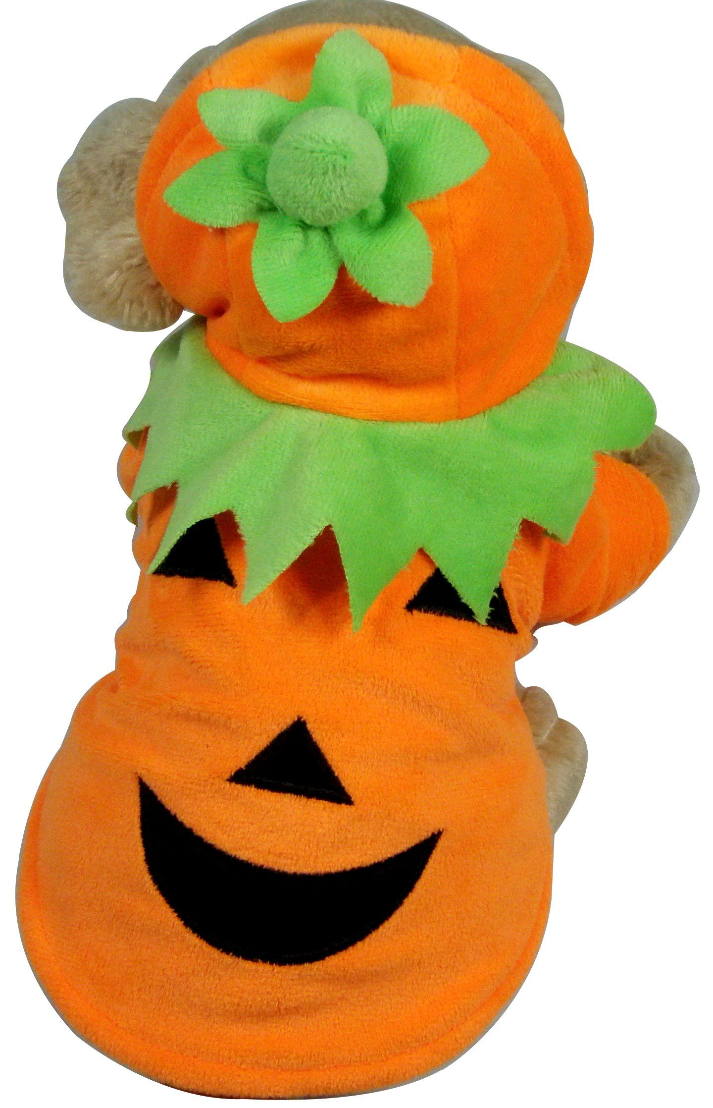 Dog Pumpkin Halloween Costume Extra Small * See this