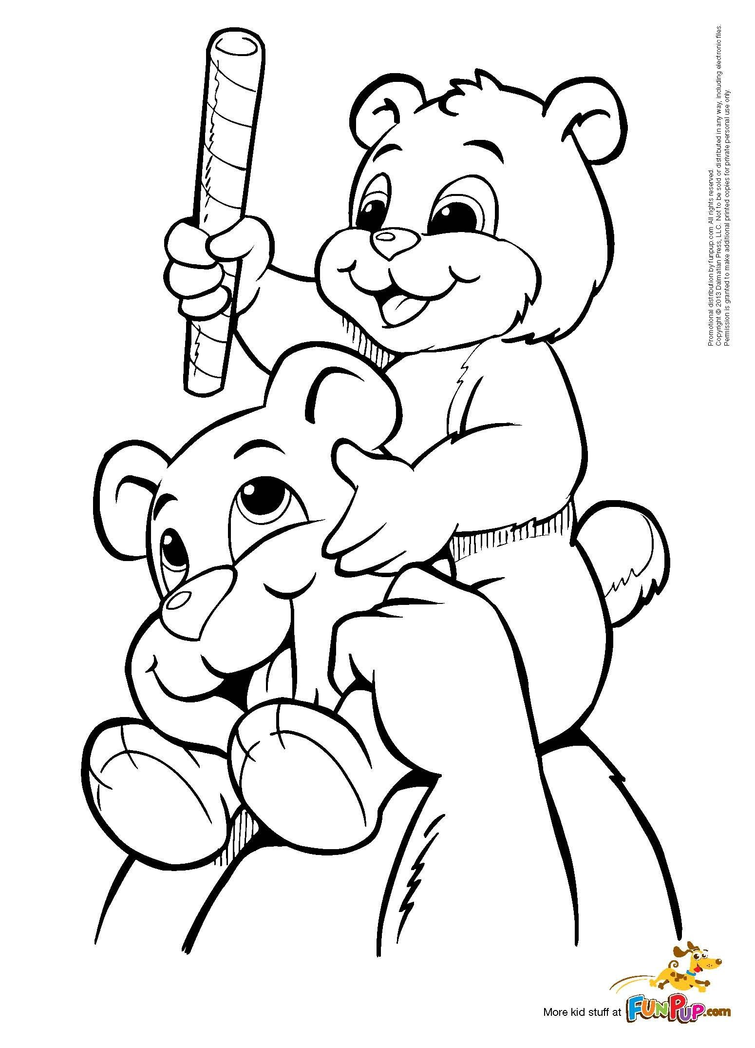 father u0026 son bear 0 00 coloring pages pinterest bears