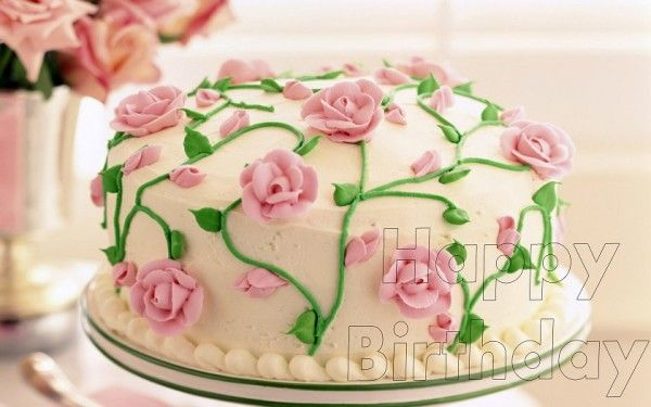 images flower birthday cakes Image Search cakes Pinterest