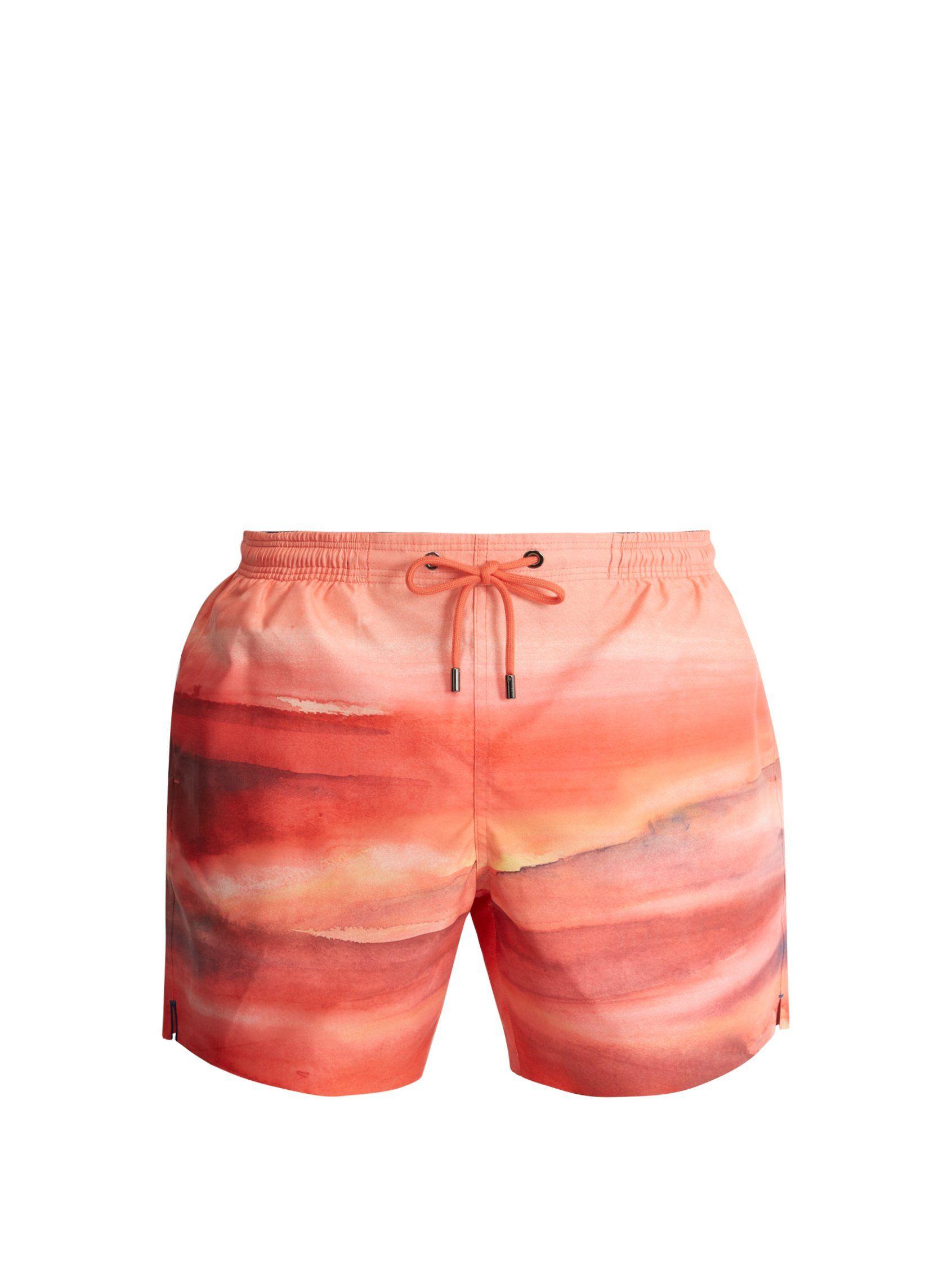 The Horizon-print swim shorts | Marané | MATCHESFASHION.COM