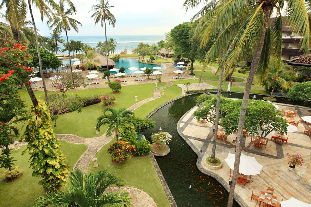 Discovery Kartika Plaza Hotel with the best beachfront location in ...