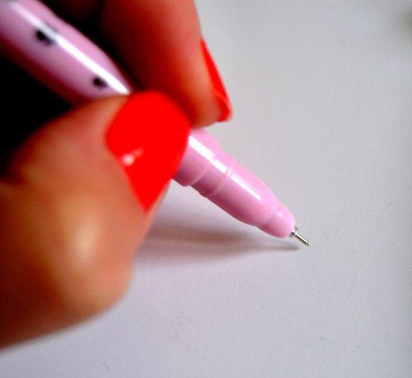 écrire, crayon rose pastel kawaii sur aliexpress