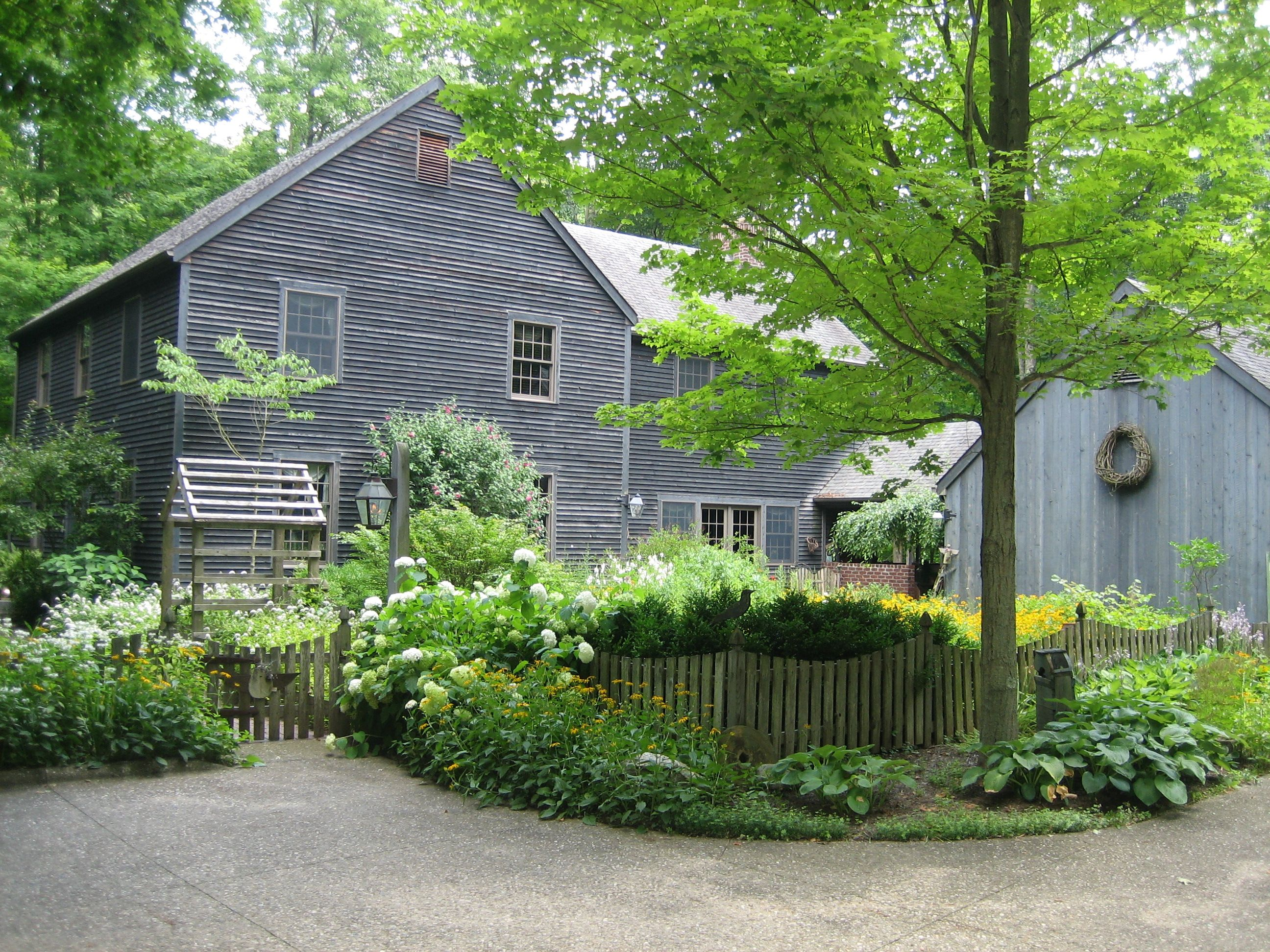 BUILT BY SONNY IN 1992 a colonial reproduction home designed by