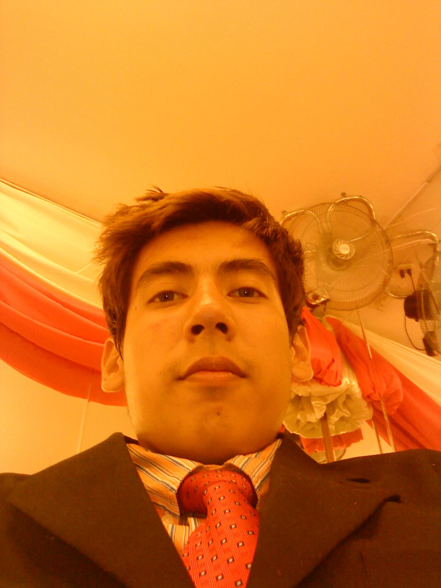 Last year 2013 when i went to a friend's quinceañera party :) hehehe i had a great time