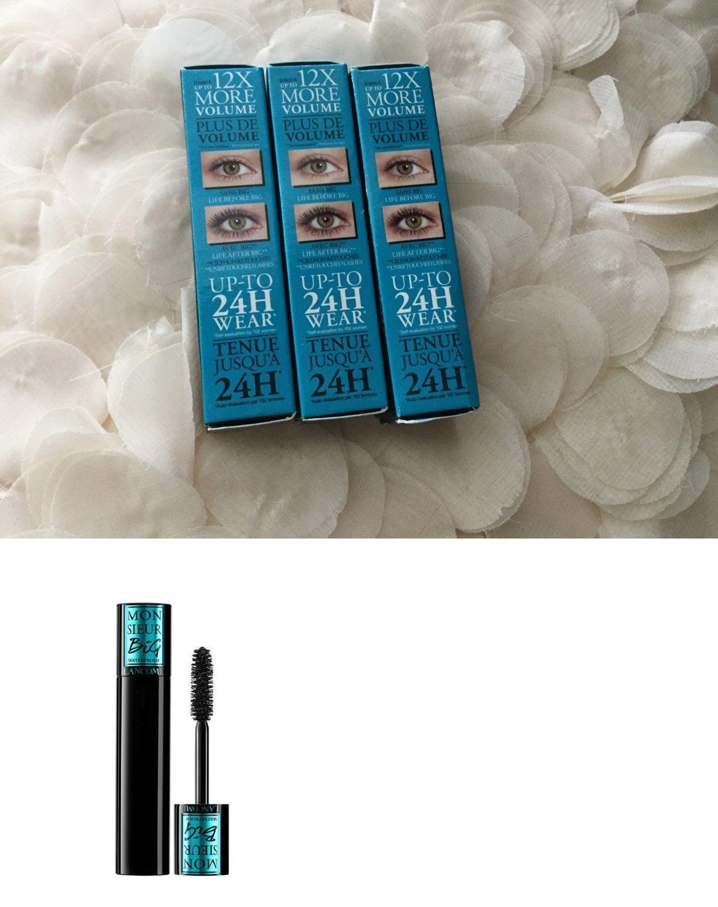 3 Lancome Monsieur Big Volume Waterproof Mascara Black 2ml New In 11869 Box Buy It Now Only 15 On Ebay
