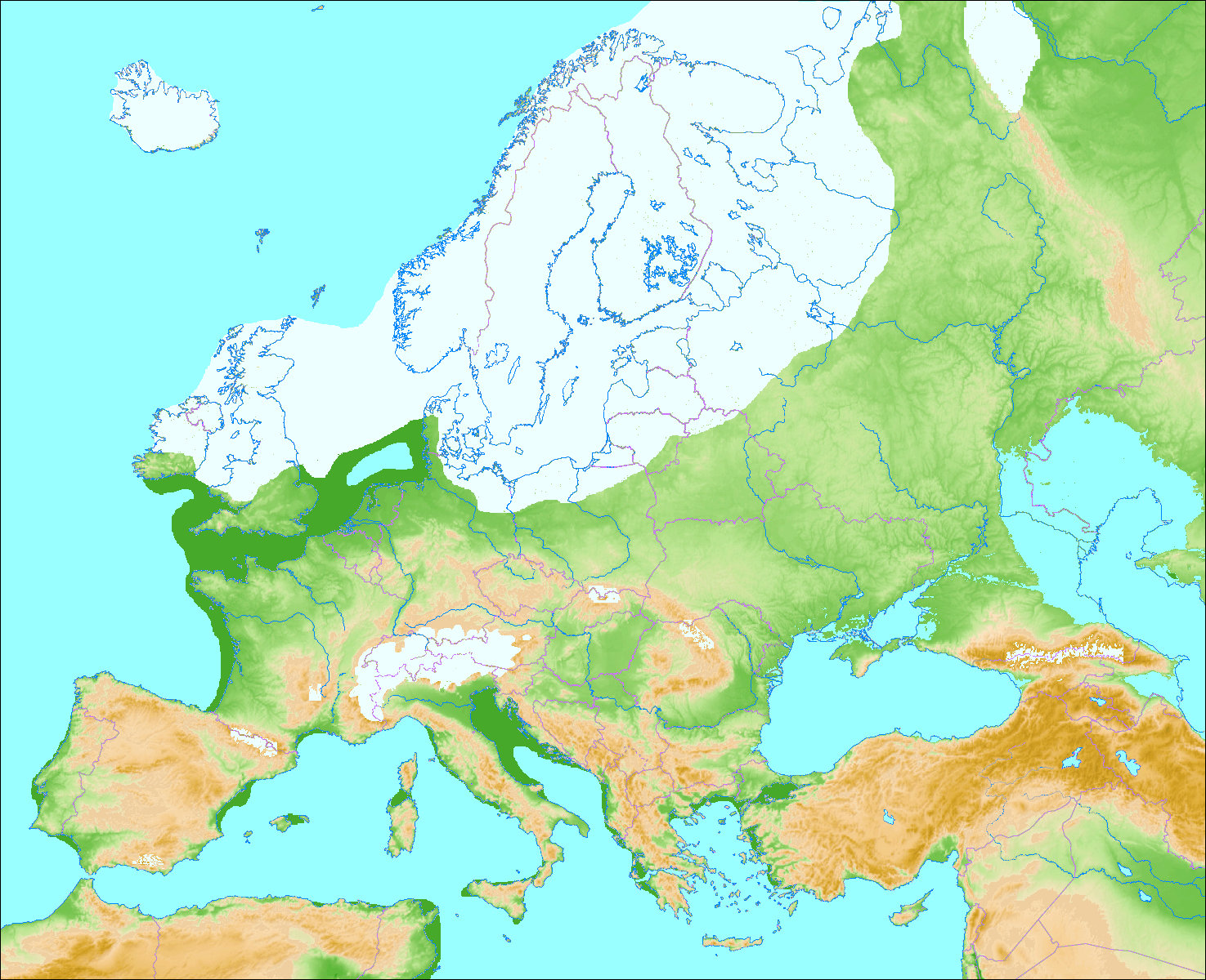 europe during last glacial period weichselian glaciation in scandinavia and northern europe ice sheets