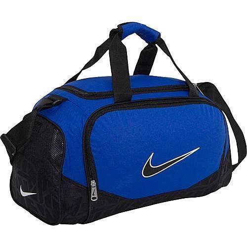 0558cba4 Nike Duffel Bag Blue Black Brasilia 5 Small Gym Travel Duffle Men Women Boy  Girl #Nike #Duffle #Gym #OrlandoTrend #Duffel