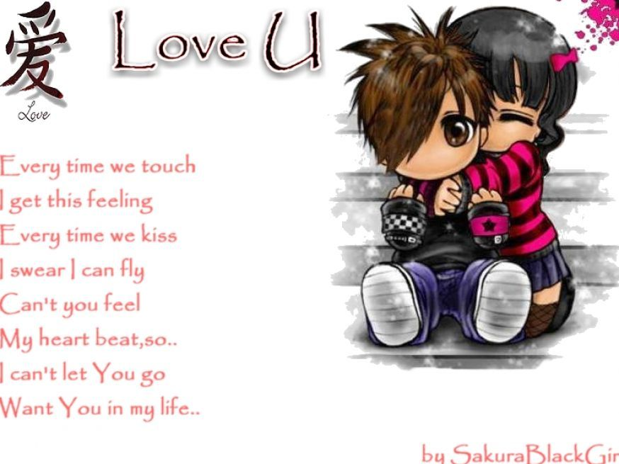 Emo Quotes About Love For Him: Cute Emo Love Icons Pictures 2