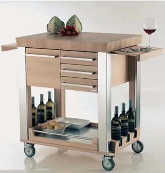 Carrello Cucina Carrelli Da Cucina Isola Bar Cucina Cucine Moderne