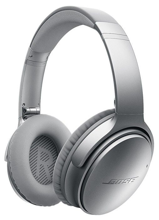 The Bose Quietcomfort 35 Noise Cancelling Wireless Headphones Are