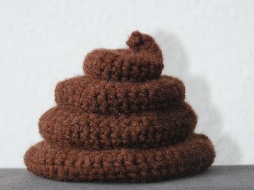 Poo Poop Crochet Pattern no.20 - via @Craftsy