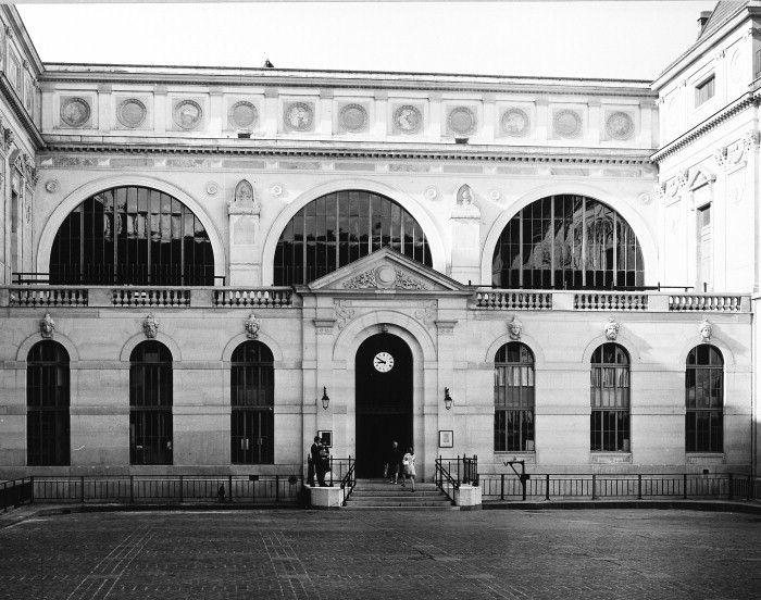 The Biliothèque Nationale | Paris, France | Henri Labrouste | photo © James Austin