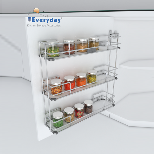 Cabinet Spice Rack Midway Storage Systems Cabinet Spice Rack Spice Rack Wall Mounted Spice Rack