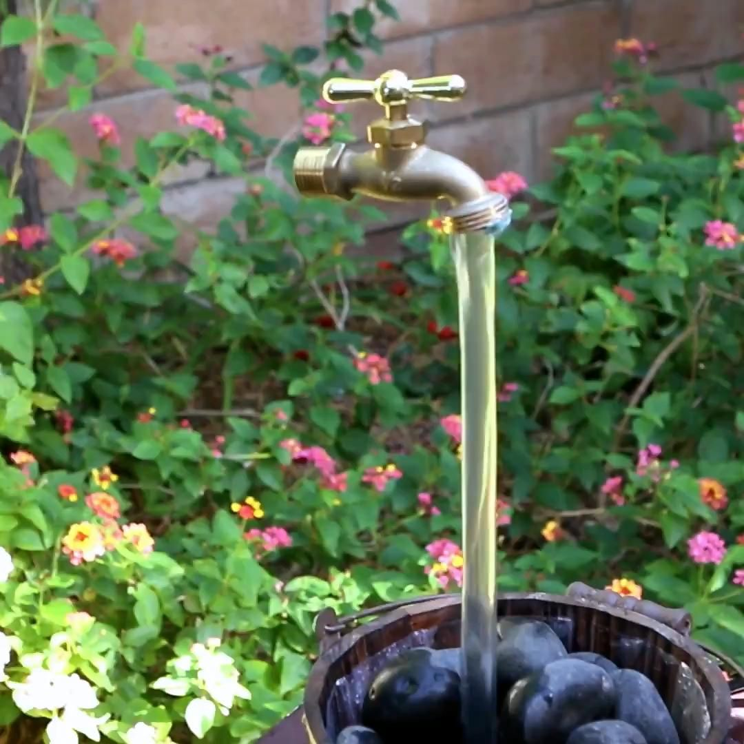 Easy diy project for your home. - #diy #doityourself #faucet #homeimprovement #homedecor #furniture #fountain #diyhome #tutorial #howto #trending #tip #trick