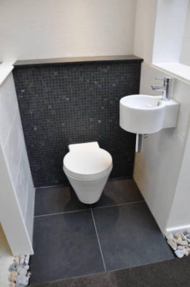 Toilet tegels toilet pinterest tegels badkamer en wc for Tegels wc voorbeelden