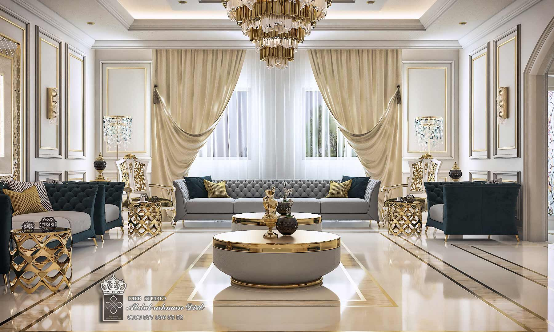 Men Majles Luxury Living Room Decor Classic Interior Design Living Room Luxury Furniture Living Room