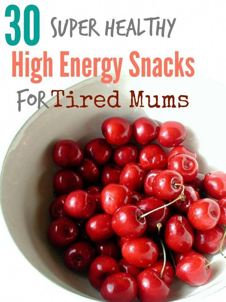 Healthy snacks are every tired mom's best friend. Whether you're struggling ... -