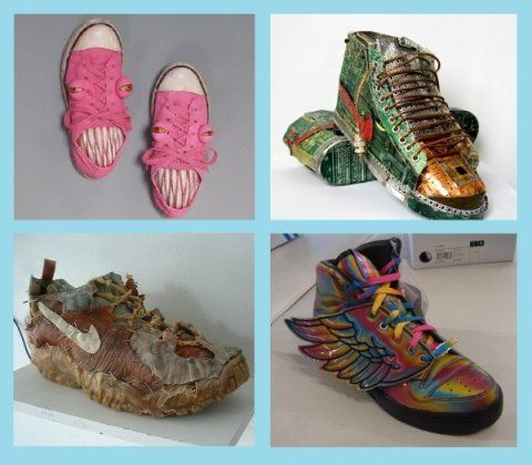 7 Weird Sneakers from the Virtual Shoe Museum | Weird
