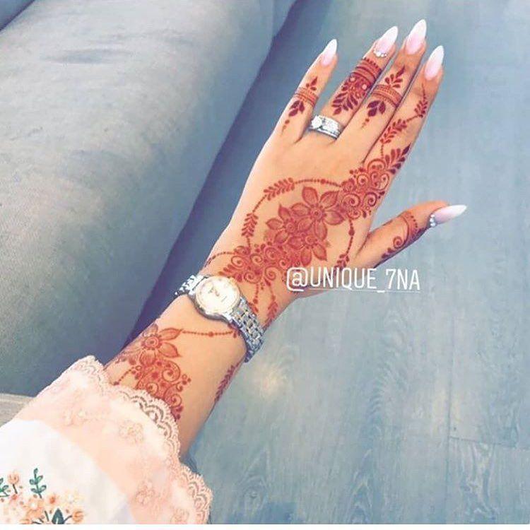 حناء حنتي حنه حناي حنايات حنايه نقش نقوش نقوش حنا نقش حنا حنا عروس حنا حنا ظهر حنا اسود Traditional Henna Designs Henna Designs Henna